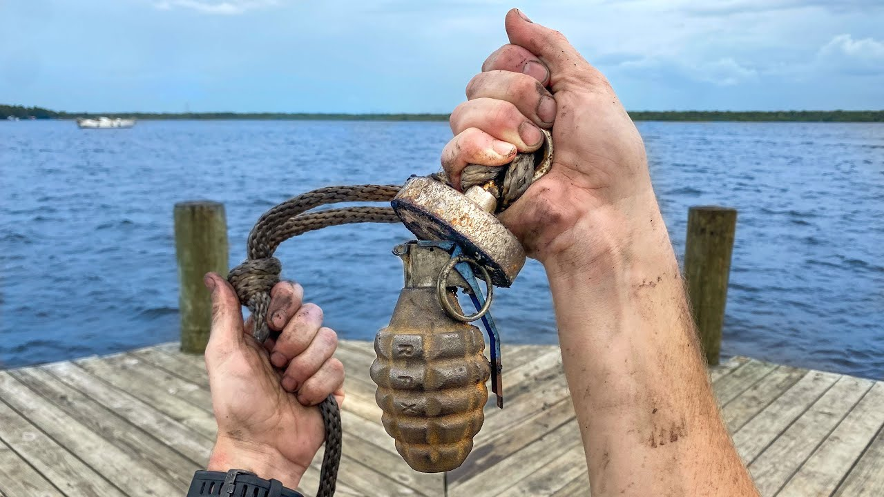 The Dangers Of Magnet Fishing & How To Stay Safe
